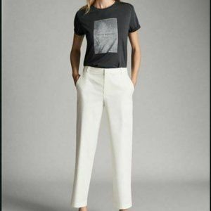 Massimo Dutti Womens Chino Pants Trousers US 6